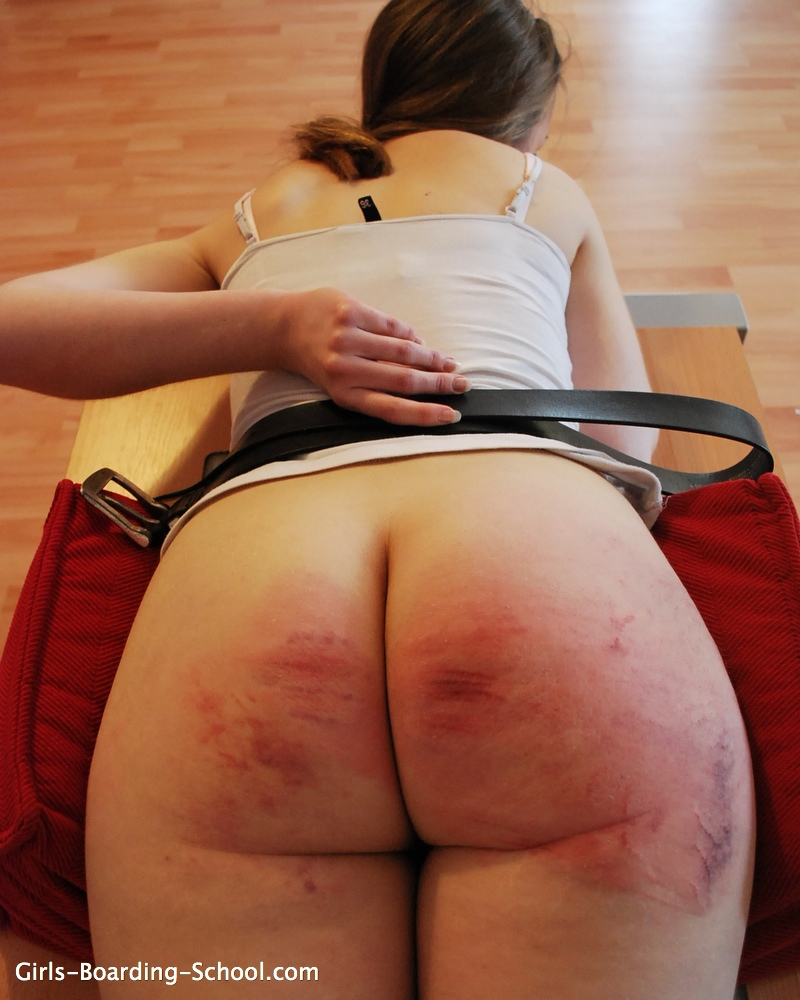 Think, the right way to spank your