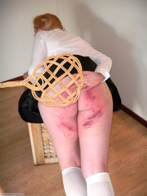 Carpet beater spanking