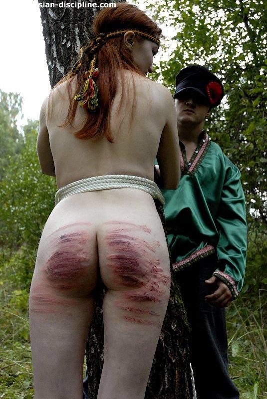 girl getting spanked hard
