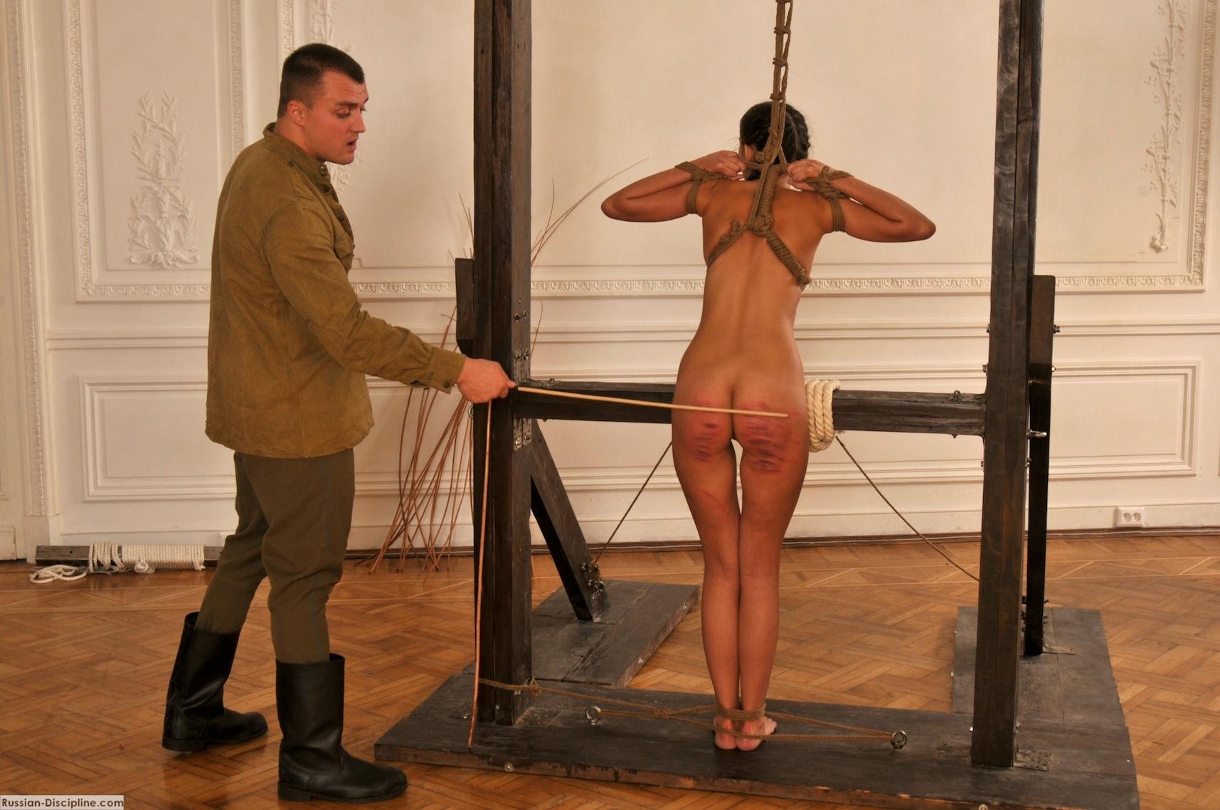 Russian punishment spank that bastard