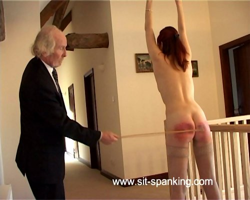 Spanked ass spread asshole humiliated exposure the