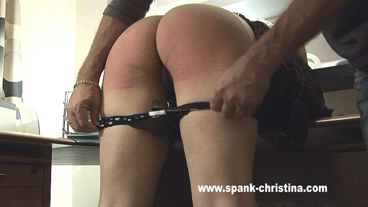 Sorry, not Spank erect bare secretary you mean?