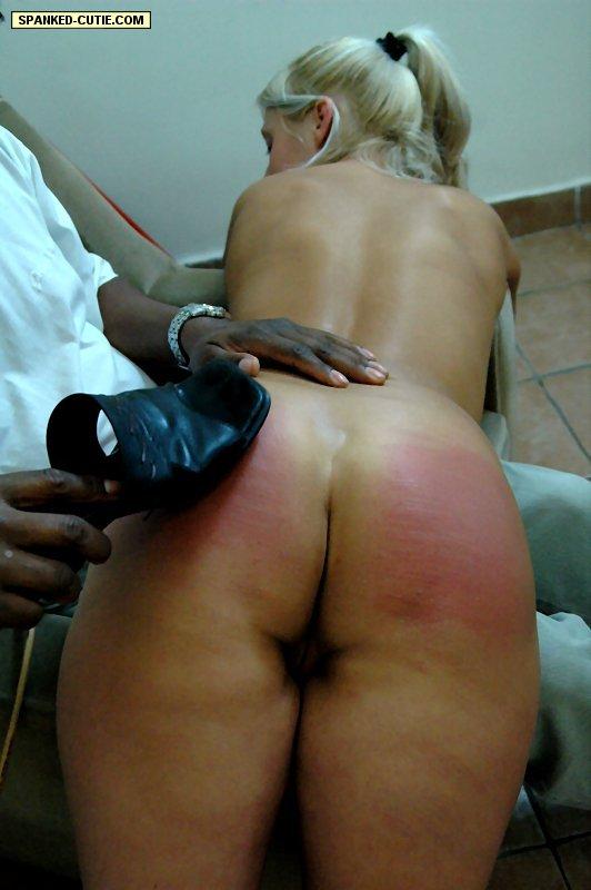 Cute buxom blonde gets boned well 9