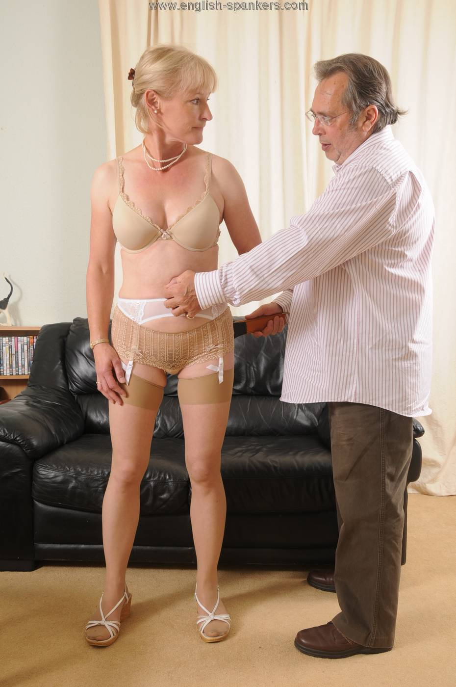 Teen gets punished by her step daddy 7