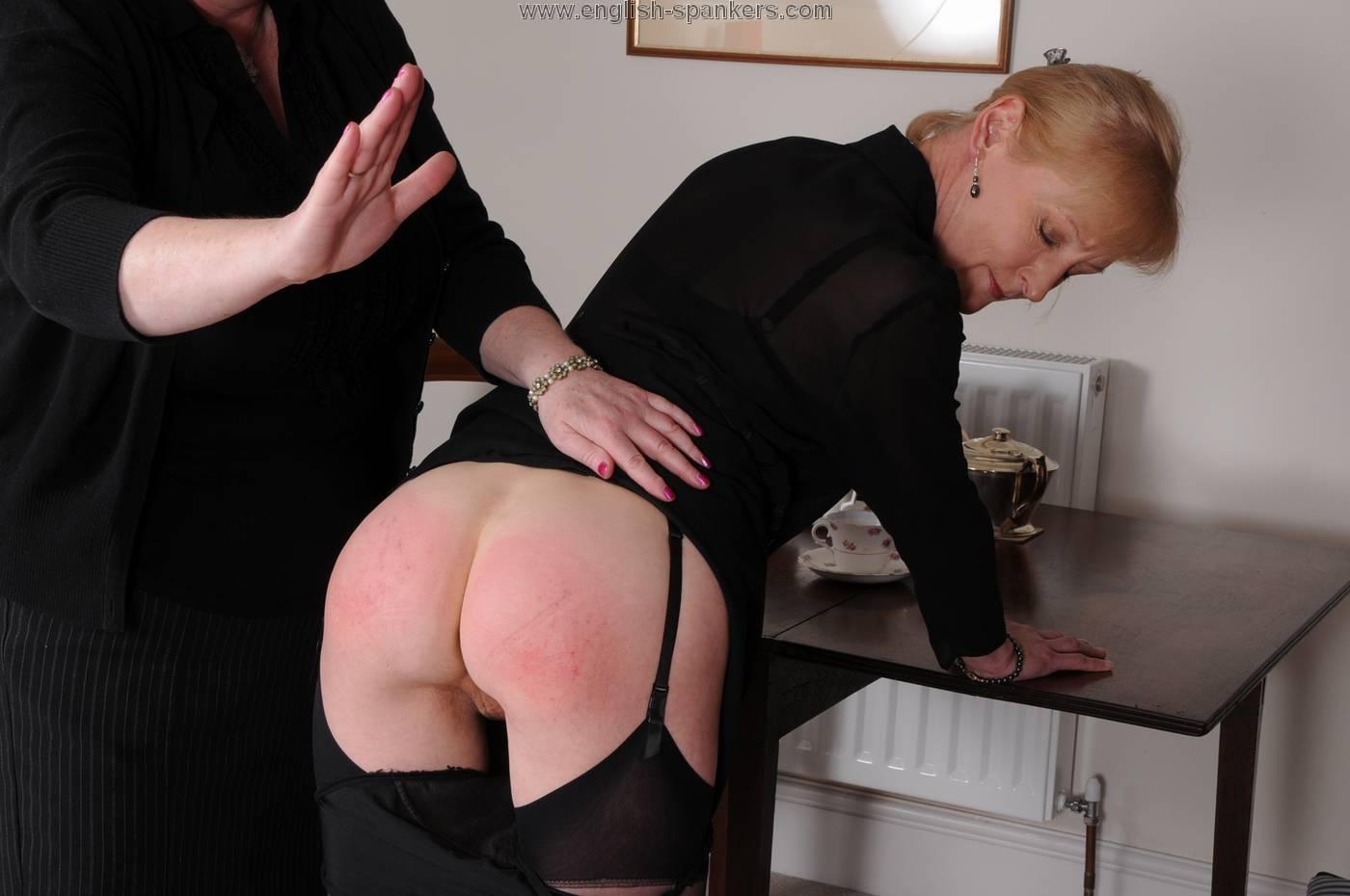 Suzie gets a spank