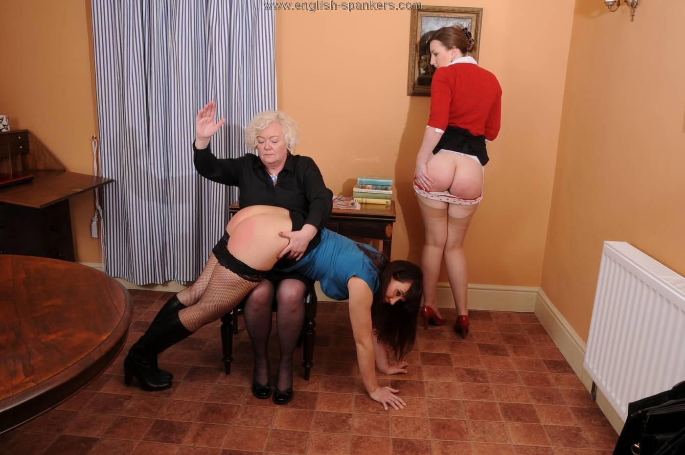 Mature spank galleries
