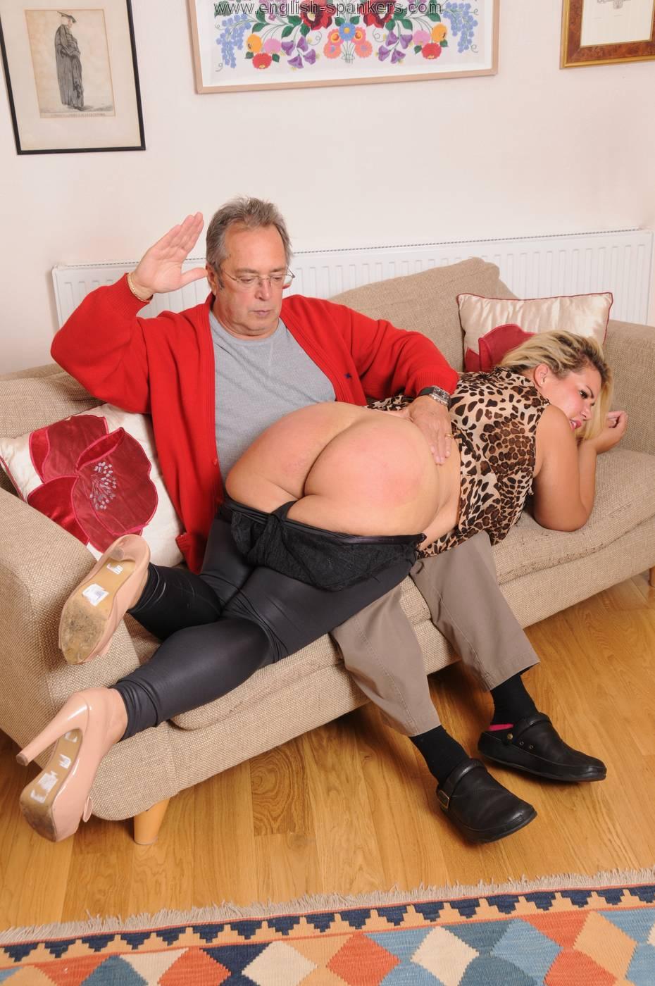 Bbw spank