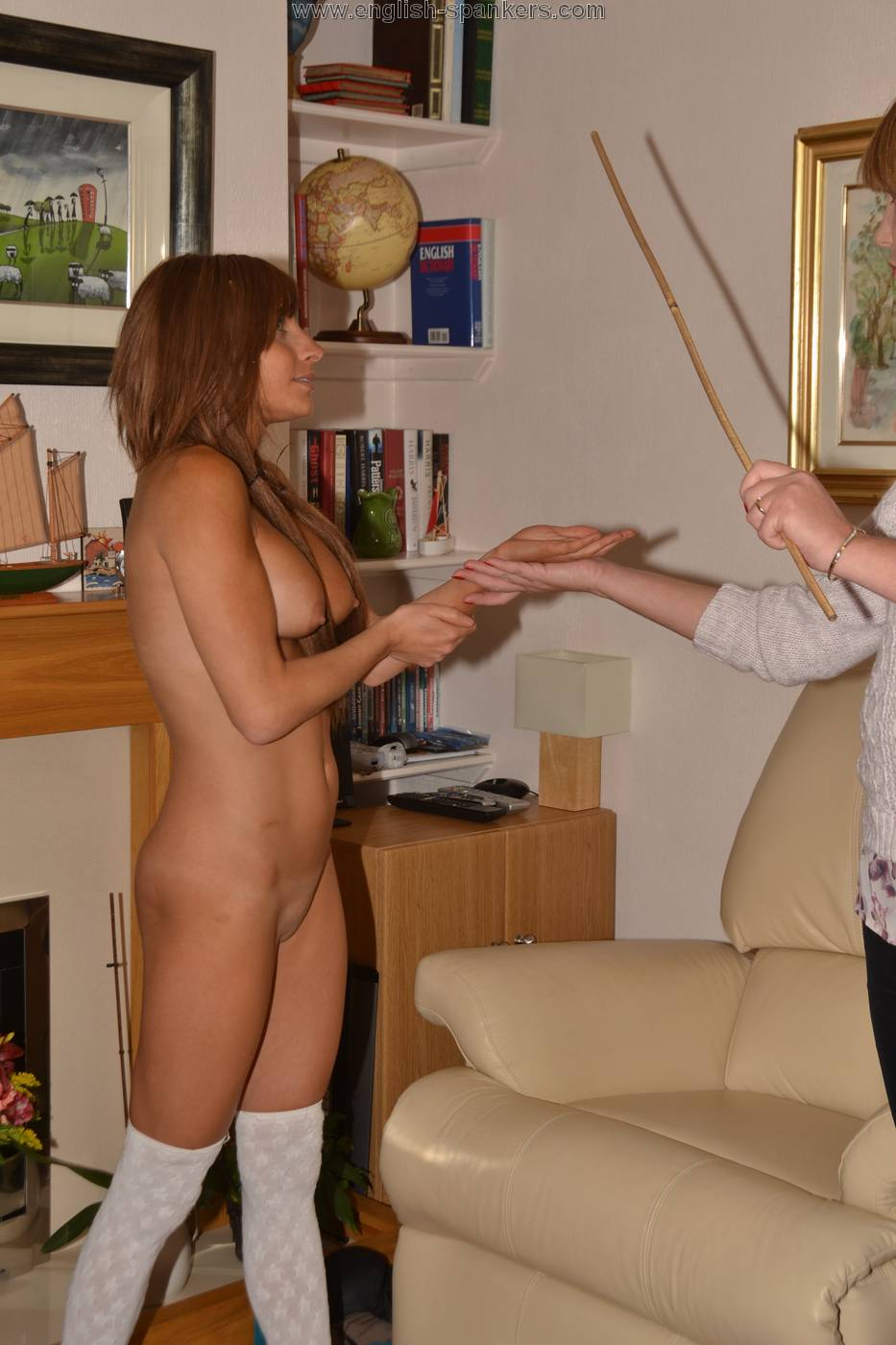 Idea)))) Now Girl being spanked naked really