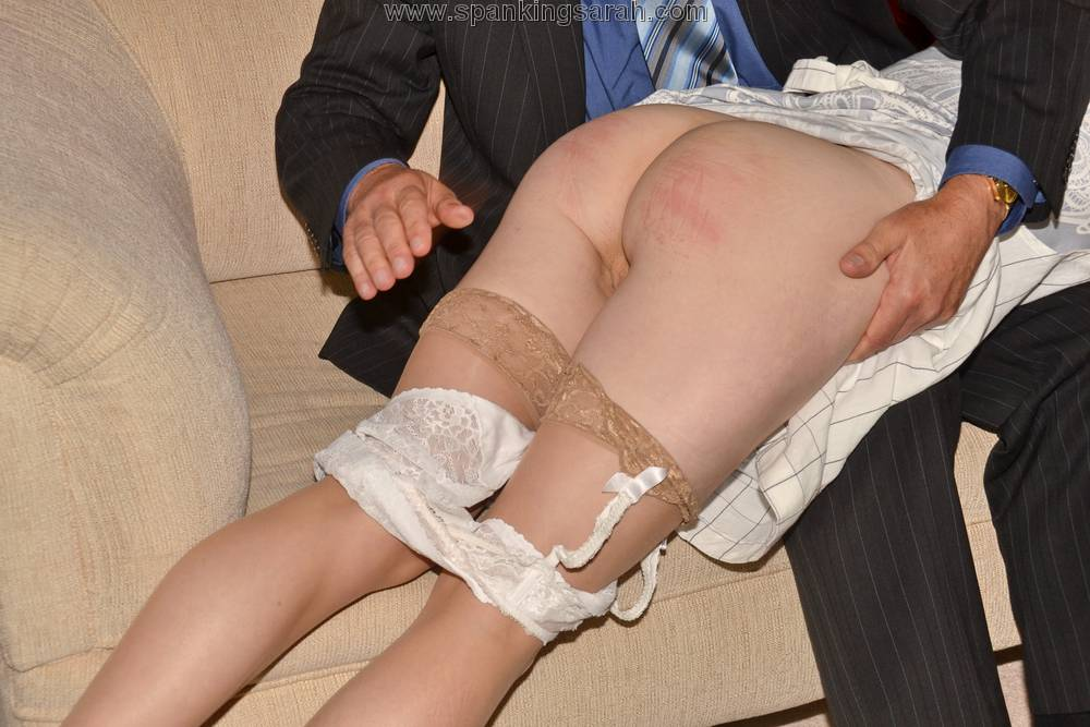Mature spanking caning