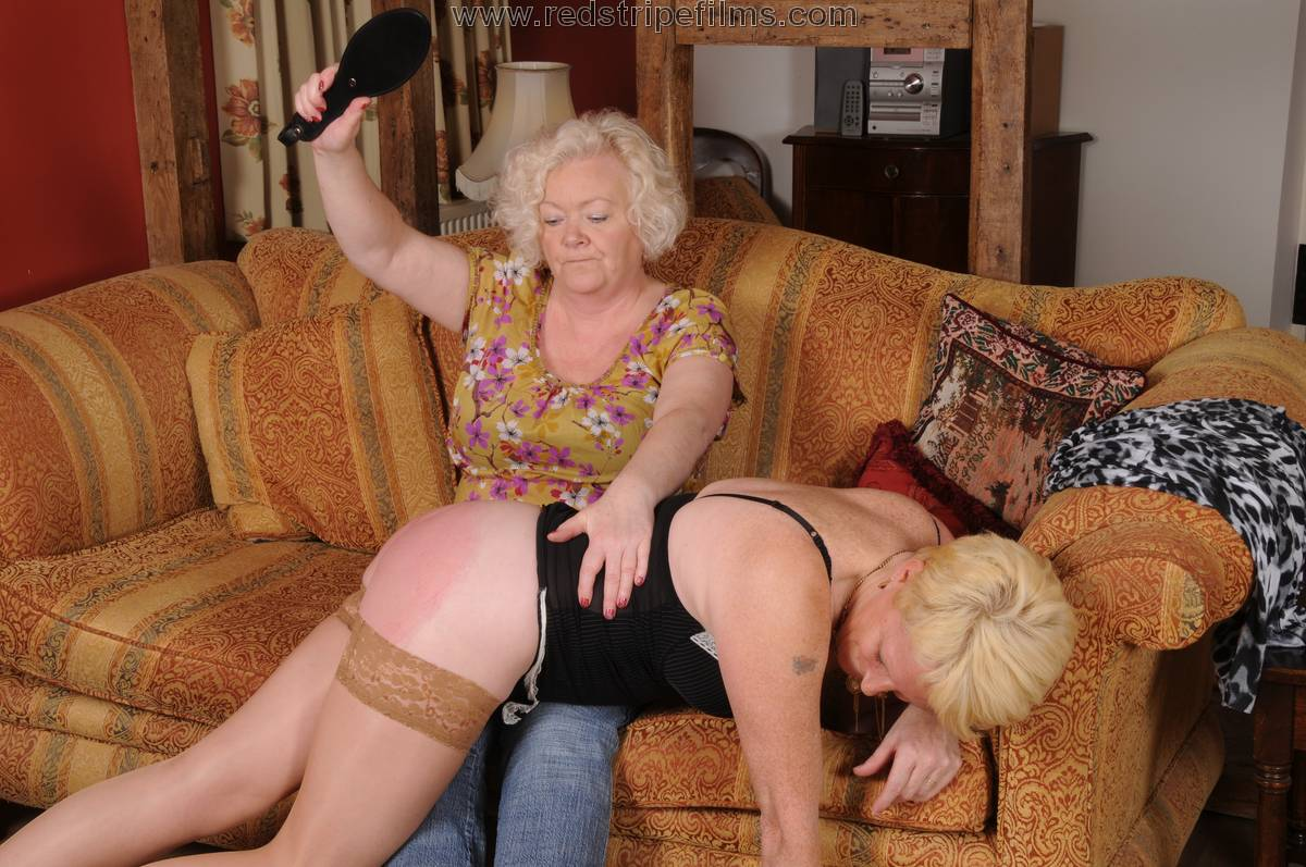 Spanking mature wife assured, what