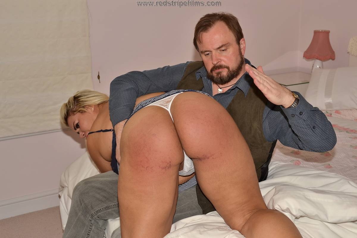 Spanking mature wife congratulate, what