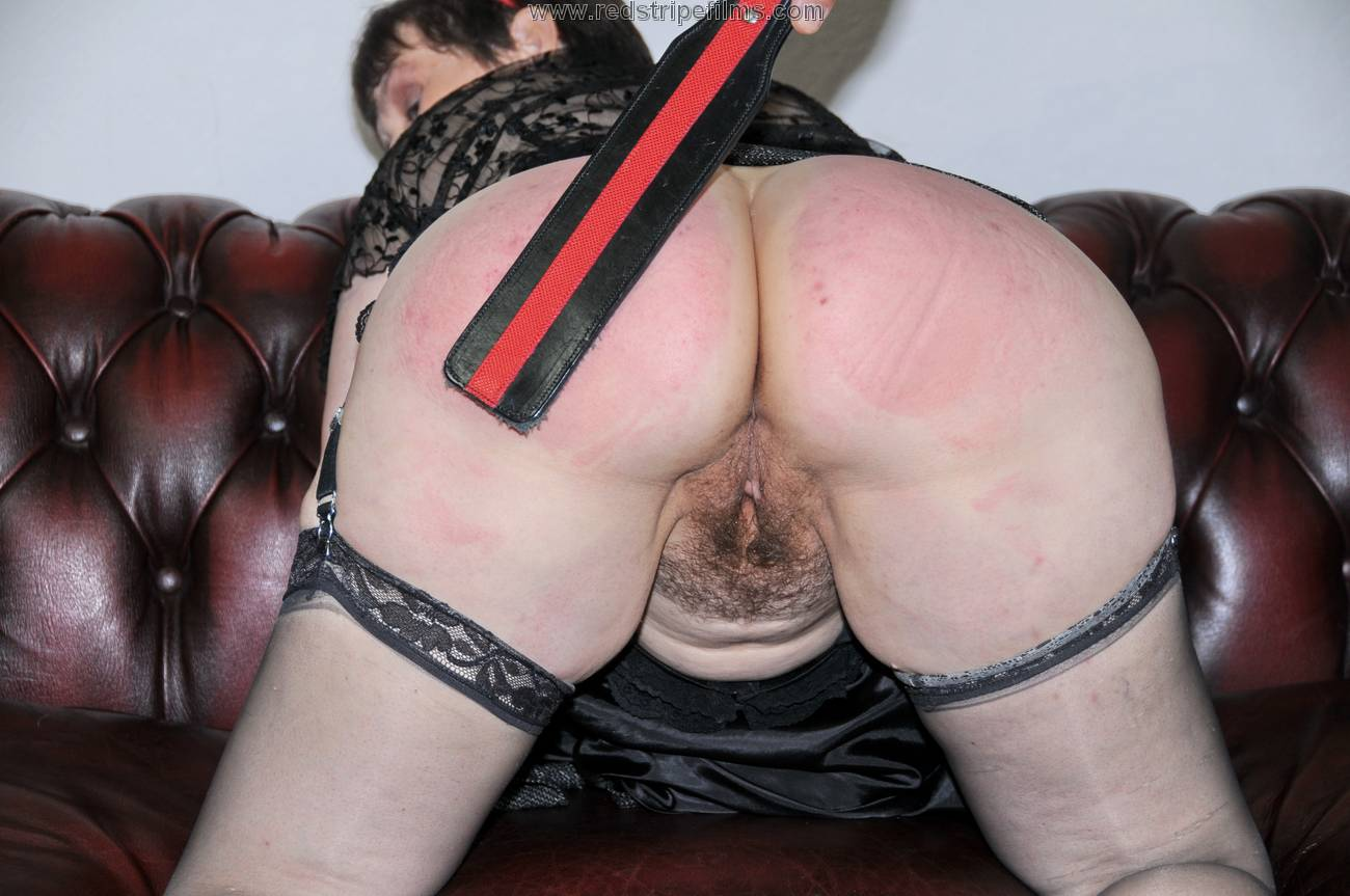 image Harsh caning by hot young blonde mistress