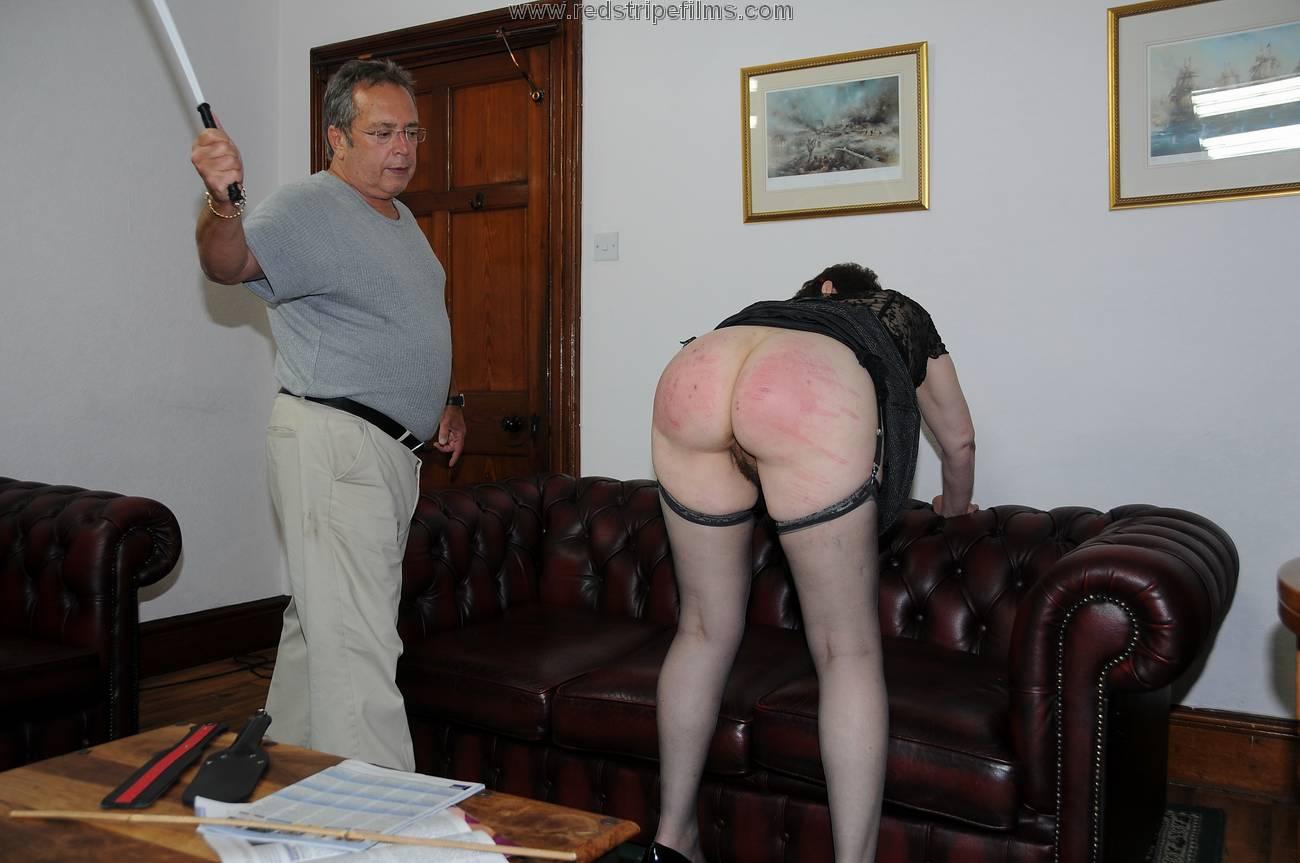 spanking filmed