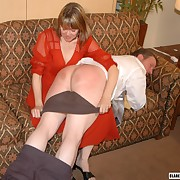 Clare Spanks Men Picture