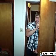 Clare Spanks Men Picture