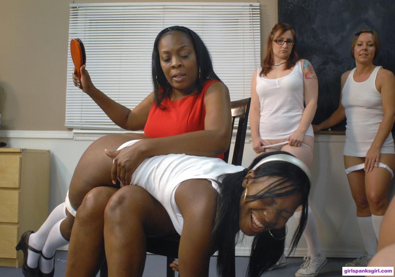 Hot Nude Photos otk girl spanks girl