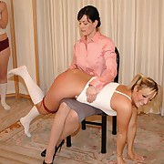 Girl Spanks Girl Picture