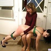 Girl Spanks Girl Picture