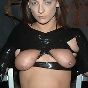 PD�s version of plastic wrap turns Kali into an item of fetish, her eyes marvelous and seductive.
