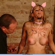Humiliation of the piggie