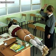 Caning in school