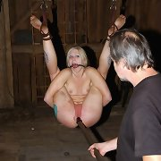 Psycho-fuck bondage, cock-sucking and fucking, and jizz.
