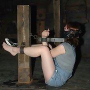 Girl next door is in hardest bondage