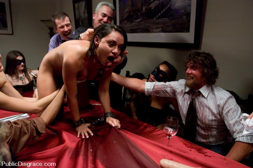 Dinner party porn, vanilla sonic nude