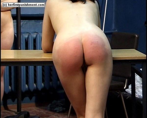 Russian spanking punishment