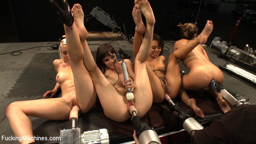 Nude video fucking Machine
