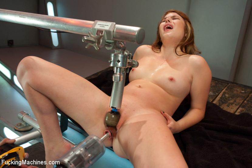 Nude contortion women flexing