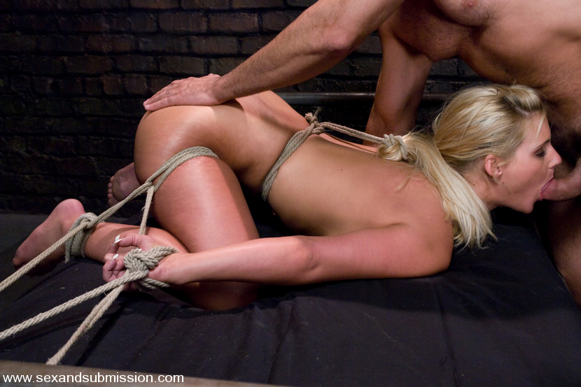 Fucked bondage hot blonde