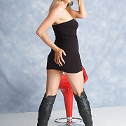 Girls in Leather Boots Picture