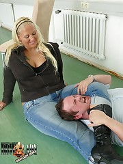 Serf was gripped by mistress