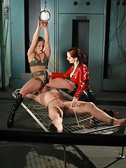 A boy was tied, smothered and fucked