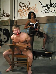 Interracial f/m humiliations