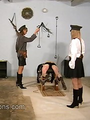 Two dominatrixes punished inmate boy