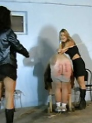 Two dominas punished boy