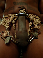 There are lots of humiliation with sexy blond and slave.