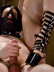 Bitchy mistress wants to drill her slave asshole