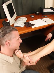 Do you think Max will prove himself as a worthy foot slave?
