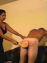 Pissed off bitch punishes her boyfriend