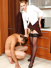 sexy lady busy straponfucking