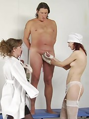 Femdom medical bitches depress a bodyguard