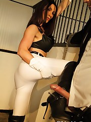 Hard Hand Job In The Stables