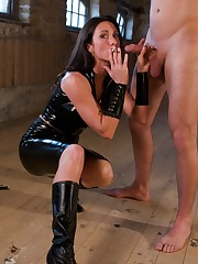 Bound Forced Hand Job