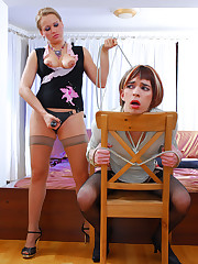 Sissified and brutally dominated