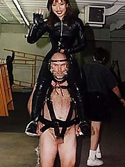 Mistresses ride slaves