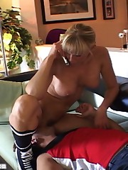 Ultra-vixen Nicole Sheridan is the sexiest referee ever and she decides to flag you for a smothering penalty