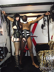 Strapon mistress humiliated boy